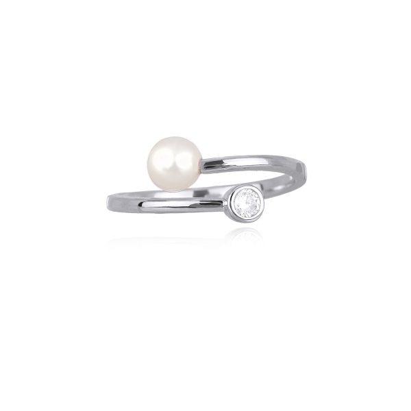 anello mabina perla