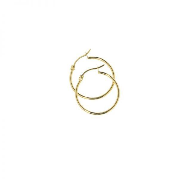 orecchino cerchio 25 mm