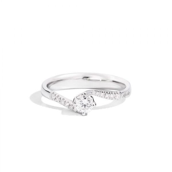 anello solitario diamanti