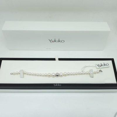 bracciale perle naturali yukiko