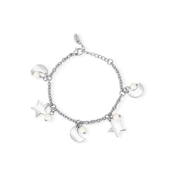bracciale stelle perle