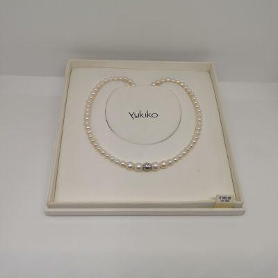 collana degradè perle naturali